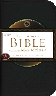 The ESV Listener's Bible on CD--62 CDs   -              Narrated By: Max McLean                   By: Max Mclean