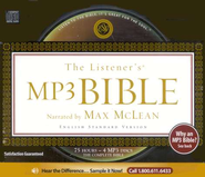 The ESV Listener's Bible on MP3 Audio Bible   -     By: Max McLean