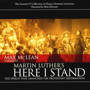 Martin Luther's Here I Stand: Audiobook on CD  -              Narrated By: Max McLean                   By: Martin Luther