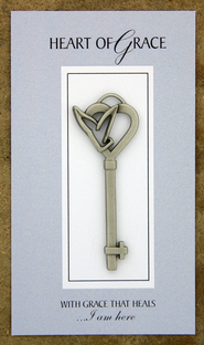 Heart of Grace Pocket Key  -