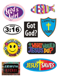 Cool Christian Magnet Set  -