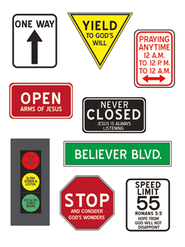 Christian Signs Magnet Set  -