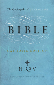 NRSV Go-Anywhere Thinline Bible, Catholic Edition   -