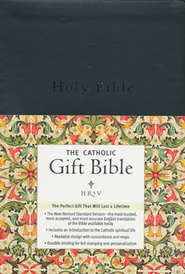 NRSV - The Catholic Gift Bible, Imitation Leather, Black  -