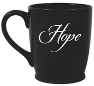 Hope In the Quiet Moments Mug, Black  -     By: Kris Decker