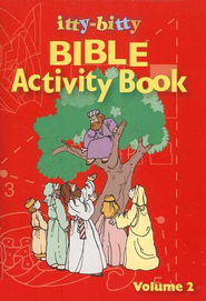 Itty-Bitty Bible Activity Book: Volume 2   -