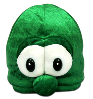 Larry Plush Beanie, Green   -