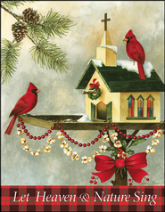 Christmas in the Garden Christmas Card, Pack of 5  -