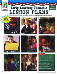 Early Learning Thematic Lesson Plans (PK-1): 32 Thematic Lesson Plans for A Developmentally Appropriate Curriculum  -     By: Sherrill B. Flora
