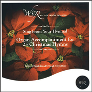 Organ Accompaniment for 25 Christmas Hymns CD   -