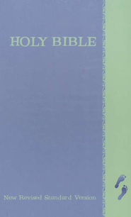 NRSV Children's Bible, Blue/Green Hardcover  -