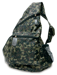Nylon Backpack Camo Green  -