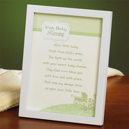 Irish Baby Blessing Framed Print  -