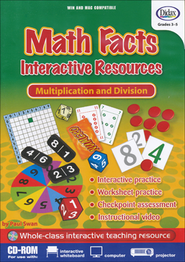 Math Facts, Multiplication and Division Interactive Resources CD-ROM  -     By: Paul Swan