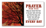 Prayer for You Glass Plaque  -