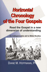Horizontal Chronology of the Four Gospels    -              By: Diane M. Hoffmann