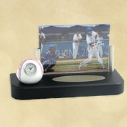 Baseball Frame Clock   -