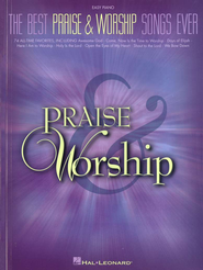 The Best Praise & Worship Songs Ever (Easy Piano)   -