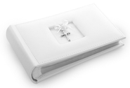 Cross Photo Album, White  -