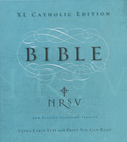 NRSV XL Catholic Edition  -