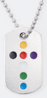 Colors of Salvation, Tag Pendant  -