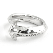 Sacrifice Nail Ring, Size 10  -