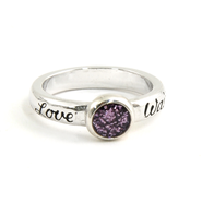 Love Waits Ring, Size 9  -