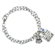 Be Wise Owl Bracelet, Colossians 4:5                      -