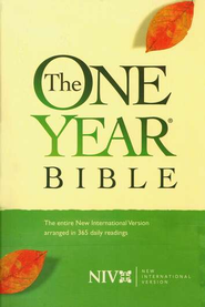 NIV One Year Bible, Compact Edition--softcover 1984  -