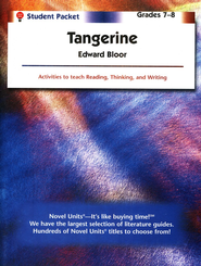 Tangerine, Novel Units Student Packet, Grades 7-8   -     By: Edward Bloor