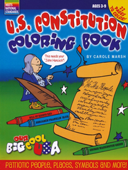 U.S. Constitution Coloring Book  -     Edited By: Sherry Moss     By: Carole Marsh