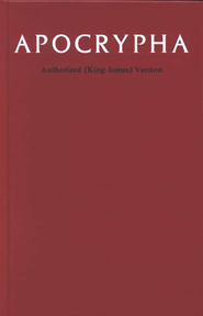 KJV Apocrypha Hardcover  -     By: Baker Publishing Group