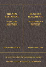 New Testament(KJV/RV1909) -Coordinated Bilingual Edition  -
