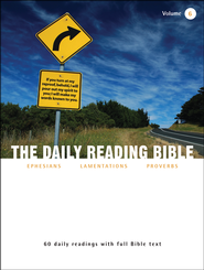 The Daily Reading Bible (Volume #6)  -
