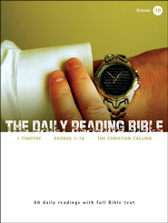 The Daily Reading Bible (Volume #10)  -