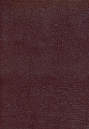 KJV Dake Annotated Reference Bible, Bonded leather, Burgundy   -