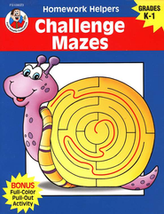 Challenge Mazes (K-1) Homework Helper   -
