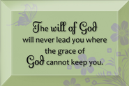 The will of God Plaque  -