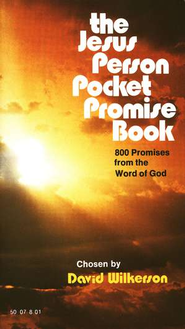 The Jesus Person Pocket Promise Book, Gift Edition   -     By: David Wilkerson