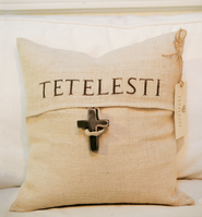 Cross Pillow, Tetelesti  -