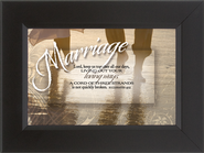 Marriage, A Cord of Three Strands Framed Print  -