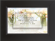 Mom, I Said a Prayer Framed Print  -