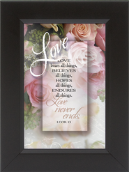 Love Bears All Things Framed Print  -