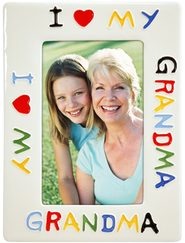 I Love Grandma Photo Frame  -