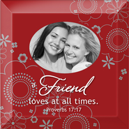 A Friend Loves All Times Photo Framed  -
