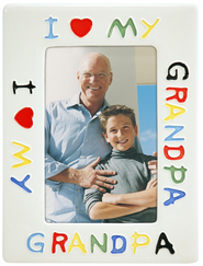 I Love Grandpa Photo Frame  -