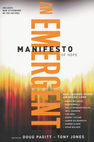 An Emergent Manifesto of Hope (softcover)  -              By: Doug Pagitt, Tony Jones
