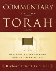 Commentary on the Torah  -     By: Richard Elliott Friedman