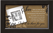 There For You, Son Framed Print  -     By: Anne Peterson
