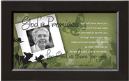 There For You, God's Promise Framed Print  -     By: Anne Peterson